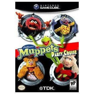 Muppets Party Cruise Video Games