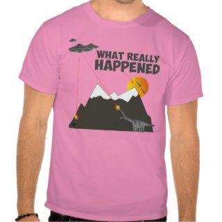 Funny Dinosaur extinction T shirts