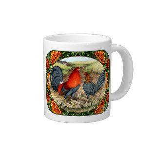 Beautiful Game Fowl Jumbo Mug