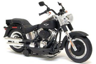 Harley Davidson Battery Operated Motorcycle Motor Cycles Mighty Bikes   New Bright (Assorted) Softail or Fat Boy Toys & Games