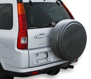 "1997 2006 Honda CRV 27"" Rigid Spare Tire Cover   Black Textured   Hard ABS Plastic Tire Cover for Honda CR V: Automotive"