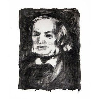 Art: Richard Wagner : Lithography : Pierre Auguste Renoir