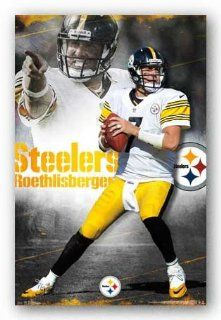Ben Roethlisberger   Pittsburgh Steelers Football Poster   Nfl Posters