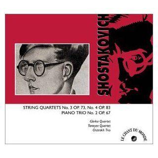 Shostakovich String Quartets Nos. 3 & 4/Piano Trio No. 2 Music