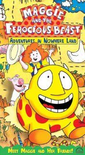 Maggie and the Ferocious Beast   Adventures in Nowhere Land [VHS]: John McGrath, Tamara Bernier, Dan Chameroy, Kristen Bone, Michael Caruana, Helmut Gau�, Stephen Ouimette, Gerrit Schmidt Fo�, Betty Paraskevas, Michael Paraskevas: Movies & TV