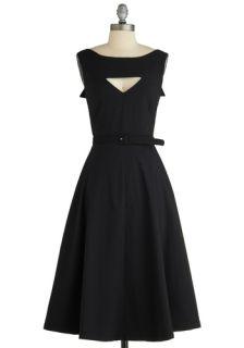 Tatyana/Bettie Page The Evening Unfolds Dress in Black  Mod Retro Vintage Dresses