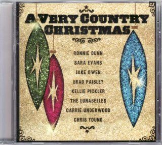 A Very Country Christmas CD Featuring Kellie Pickler, Carrie Underwood, Sara Evas, Brad Paisley Music
