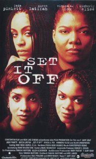 Set It Off [VHS]: Jada Pinkett Smith, Queen Latifah, Vivica A. Fox, Kimberly Elise, John C. McGinley, Blair Underwood, Vincent Baum, Van Baum, Chaz Lamar Shepherd, Thomas Jefferson Byrd, Charles Robinson, Ella Joyce, F. Gary Gray, Allen Alsobrook, Bob Degu
