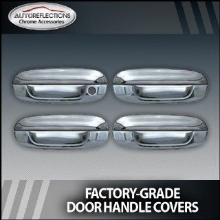 2002 2010 Chevy Trailblazer Chrome Door Handle Covers (4 door w/o passenger Keyhole): Automotive