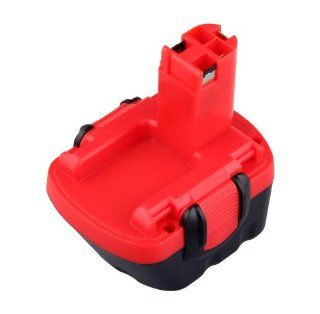 TOPCHANCES Bosch BAT043 Battery 12V Ni CD 2000mAh Compatible P/N BAT043, BAT045, BAT046, BAT049, BAT120, BAT139 Black&Red