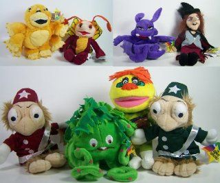 "Complete Set of 8 Krofft Super Stars 8 10"" Bean Bag Plush from H. R. Pufnstuf, Sigmund the Sea Monster, and The Bugaloos: Toys & Games"