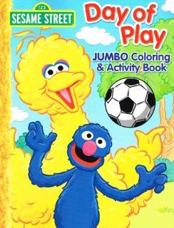 Sesame Street Elmo Jumbo Coloring Book   Day of Play Toys & Games