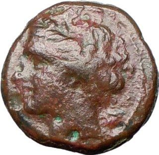 SYRACUSE Sicily 275BC King HIERON II Kore Persephone & Bull Ancient Greek Coin: Everything Else