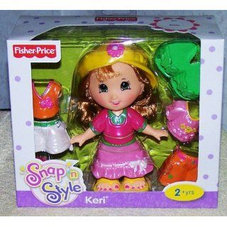 Fisher Price Snap 'n Style Doll   Keri ( Colors May Vary ) Toys & Games