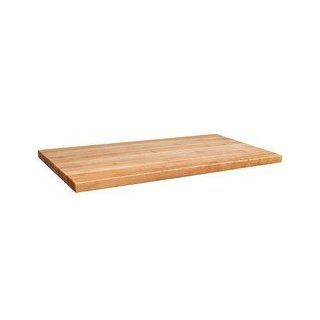 John Boos 2 1/4 inch Hard Rock Maple Butcher Block Island Counter Top, 36 inchW x 27 inchD, Varnique Finish: Home Improvement