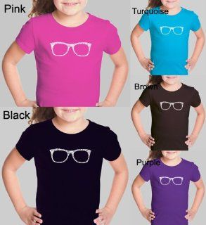 Girl's PURPLE Glasses Shirt M   Created using different terms to describe ones style Clothing