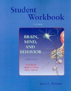 Brain, Mind, and Behavior Study Guide: Joyce Norman: 9780716728023: Books
