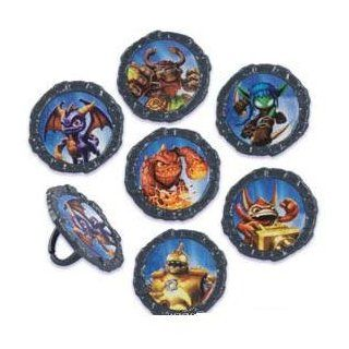 SKYLANDERS CupCake Decoration Topper Birthday Cake Favors 12 Rings Cynder VOODOOD : Other Products : Everything Else