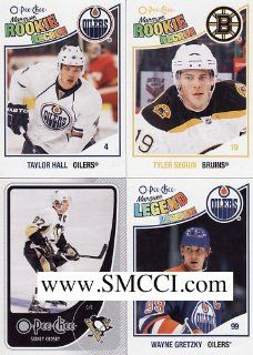 2010 / 2011 O Pee Chee Hockey Series Complete Mint 600 Card Hand Collated Set. Loaded with Stars, Rookies and Hall of Famers Including Wayne Gretzky, Patrick Roy, Steve Yzerman, Bobby Orr, Gordie Howe, Mario Lemieux, Sidney Crosby, Martin Brodeur, Dany Hea