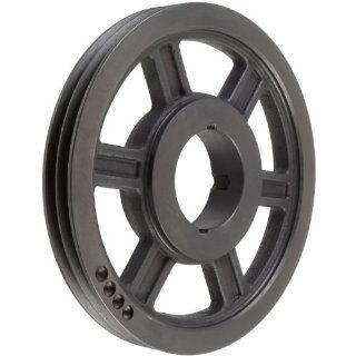 TL SPZ160X2.2012 Ametric� Metric 160 mm Outside Diameter, 2 Groove SPZ/10 Dynamically Balanced Cast Iron V Belt Pulley / Sheave, For 2012 Taper Lock Bushing, (Mfg Code 1 013) Industrial & Scientific