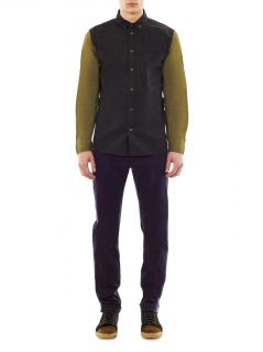 Contrast sleeve Oxford shirt  Marc by Marc Jacobs  MATCHESFA