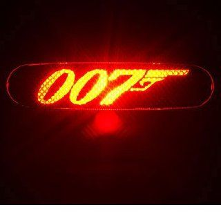 JAMES BOND 007   3rd Third Brake Light Vinyl Decal Mask Kit #1072  Vinyl Color Black Automotive