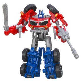 Transformers Prime Beast Hunters Commander Class Optimus Autobot Leader Figure: Toys & Games