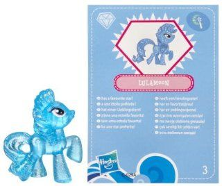 My Little Pony Friendship is Magic 2 Inch PVC Figure Glitter Trixie Lulamoon Blue Card Toys & Games