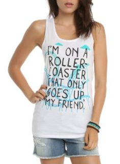 The Fault In Our Stars Roller Coaster Girls Tank Top Size : Large at  Women�s Clothing store:
