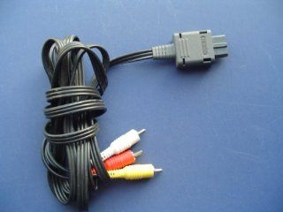 Multi out AUDIO VISUAL A/V CORD CABLE TV CONNECTION (Bulk Packaging): Video Games