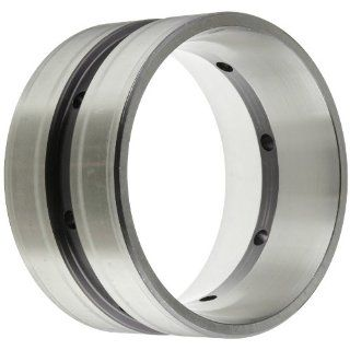 "Timken 752D Tapered Roller Bearing, Double Cup, Standard Tolerance, Straight Outside Diameter, Steel, Inch, 6.3750"" Outside Diameter, 3.3750"" Width: Industrial & Scientific"