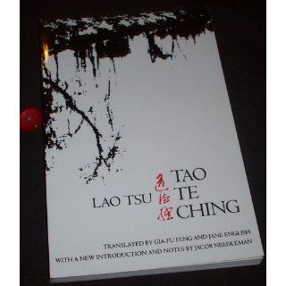 Tao Te Ching: Text Only Edition: Lao Tsu, Gia Fu Feng, Jane English, Toinette Lippe, Jacob Needleman: 9780679724346: Books