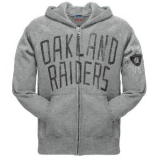 Oakland Raiders   Sunday Zip Hoodie: Clothing