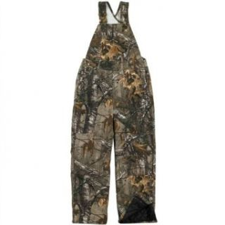 Carhartt Boys Washed Work Camo Bib Overall: Pants: Clothing