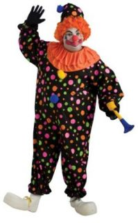 Plus Size Clown Costume: Clothing