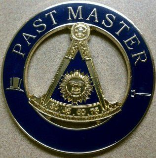 Freemason Past Master Cut Out Car Emblem: Everything Else