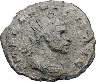 CLAUDIUS II Gothicus 268AD Ancient Roman Coin Mars War God Possibly Unpublished