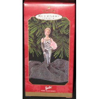Hallmark Keepsake Ornament Barbie 40th Anniversary 1999   Decorative Hanging Ornaments