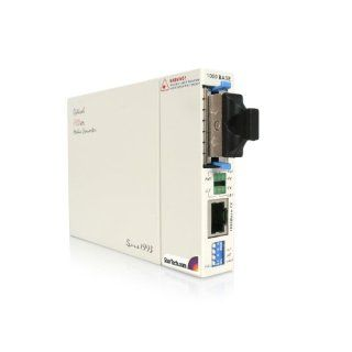 StarTech 1000 Mbps Gigabit Ethernet Single Mode Fiber Media Converter SC 40 km (ET91000SM40) Electronics