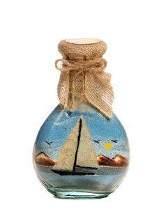 Sailing Boat Sand bottles   Glass Crafts & Sand Art   Decorative Bottles