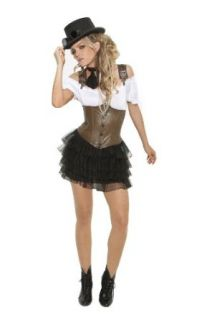 Women's Sexy Racy Steampunk Rose Costume: Adult Sized Costumes: Clothing
