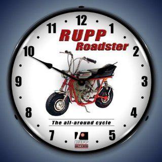Rupp Mini Bike Logo Lighted Wall Clock : Everything Else