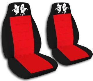 2 Angel and devil seat covers. Black and red seat covers for a 2000 VW Beetle. Please contact us if you have side airbags: Automotive