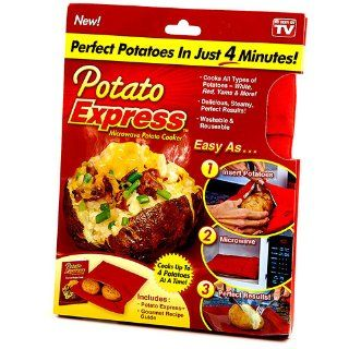 Potato Express 1000188 Microwave Potato Cooker: Kitchen & Dining