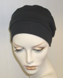 Hats with Heart Chemo 3 seam Turban (Black) at  Women�s Clothing store