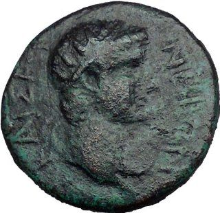 NERO 54AD of Thessalonica in Macedonia Possibly Unpublished Roman Coin i33912