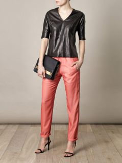 Layered silk trousers  Ar