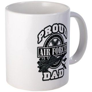 Mug (Coffee Drink Cup) Proud Air Force Dad Jets : Us Air Force Dad Mug : Everything Else