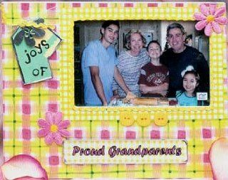 Joys of Proud Grandparents Picture Frame   Single Frames