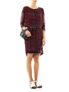 Tetra print silk dress  Raquel Allegra